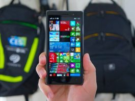 Điện thoại Lumia 830 flagship