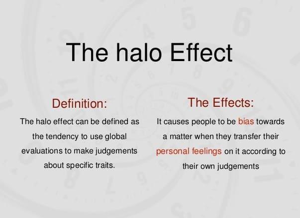 Halo effect là gì